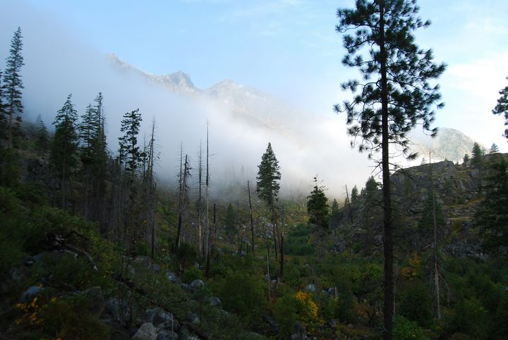 Heading up to the Enchantments - Wend Images Gallery