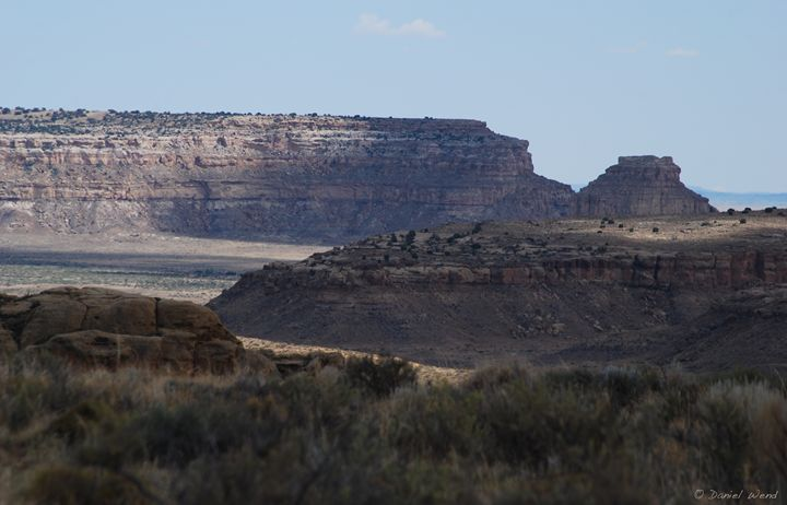 Chaco Canyon Mesas - Wend Images Gallery