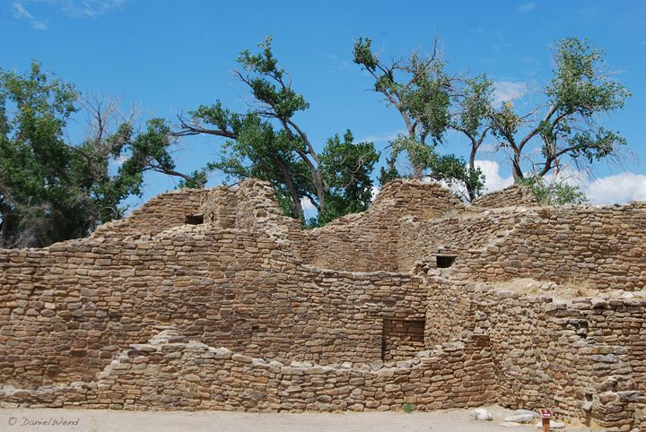 Aztec Ruins Walls, Windows and Doors - Wend Images Gallery