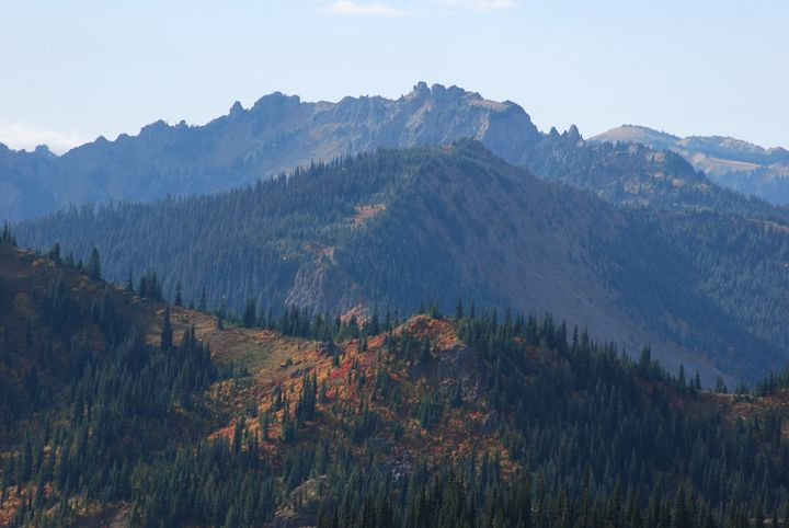 Autumn Ridgelines - Wend Images Gallery