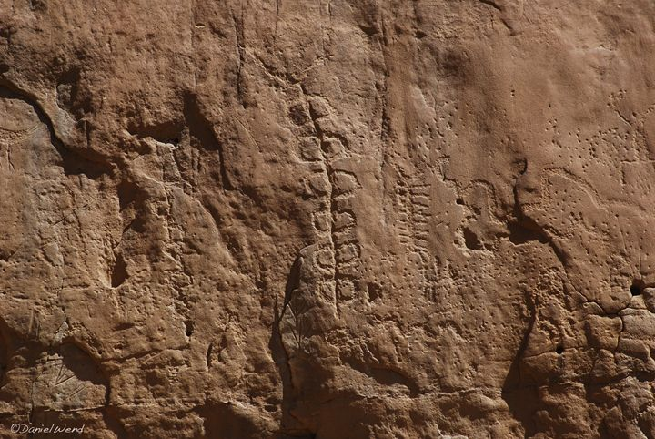 Petroglyph in Chaco Canyon - Wend Images Gallery