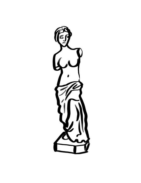 Venus De Milo - Tomahto Art Studio