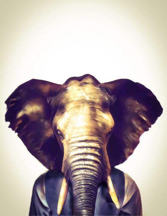 Mr. Elephant - Tomahto Art Studio