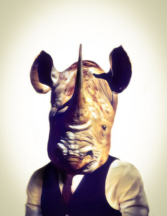 Mr. Rhino - Tomahto Art Studio