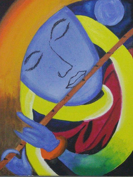Music sets peace! - Pradhan Art gallery