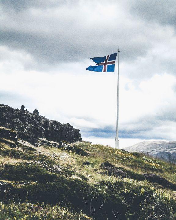 Icelandic Flag - Hannah Hodson