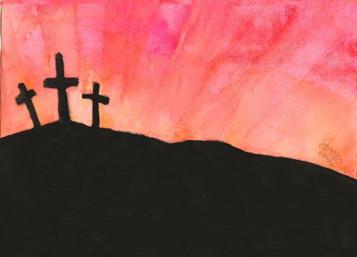 Sunset at Calvary - Jessica Denton