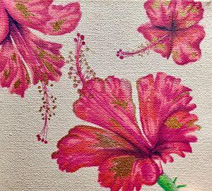 Hibiscus Trio
