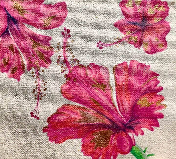 Hibiscus Trio - SMB Creations