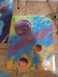 Galaxy's spray art