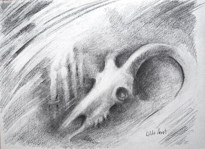 Goat Skull - Olha Gordiiuk