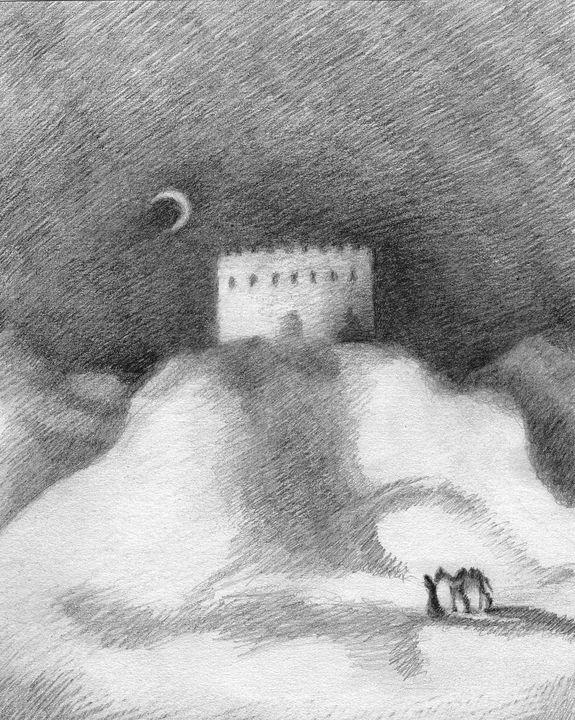 The Lonely Wanderer - Olha Gordiiuk