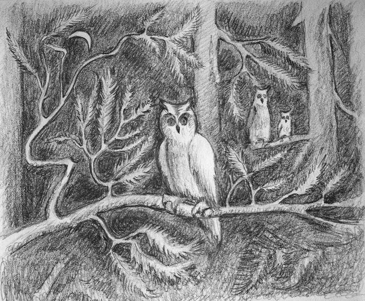 In the woods - Olha Gordiiuk