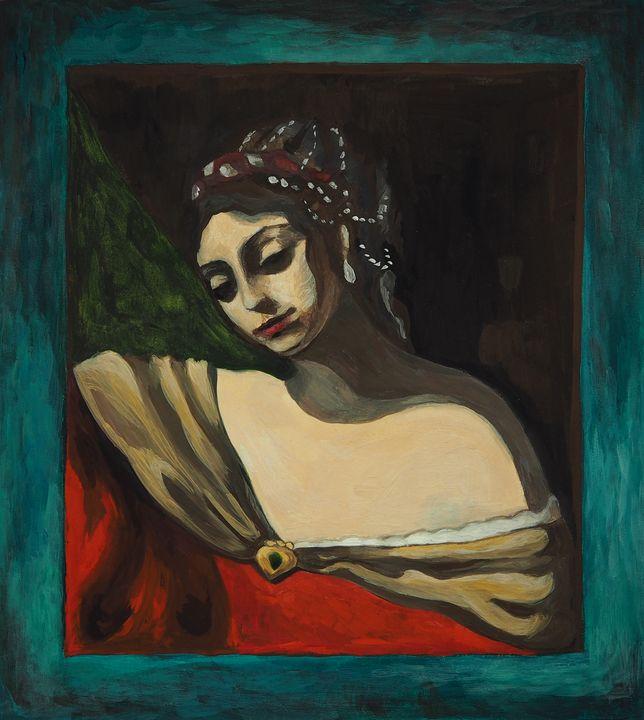 The girl - Olha Gordiiuk