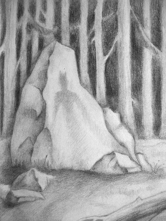 Evil spirit of the wood - Olha Gordiiuk