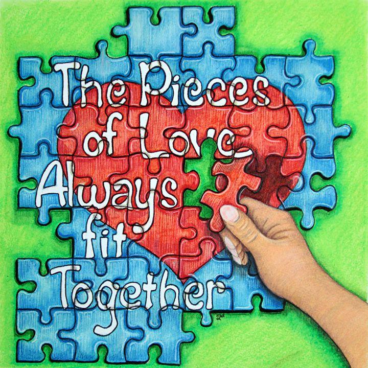 Pieces Of Love... - Studio In The Woods