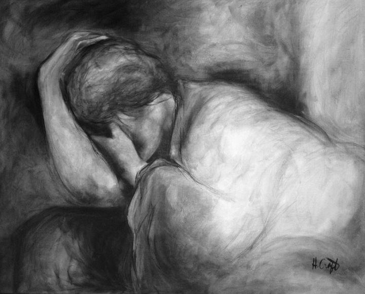 The Burdened Heart - Heather Craft Fine Art