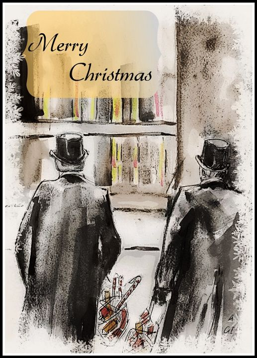 Holmes & Watson's Christmas - Alexa & Alan ~Secret World productions~