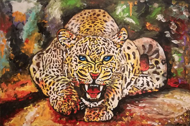 Leopard - MARIA MAGIC ART
