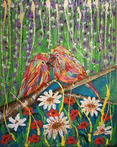 BIRDS - MARIA MAGIC ART