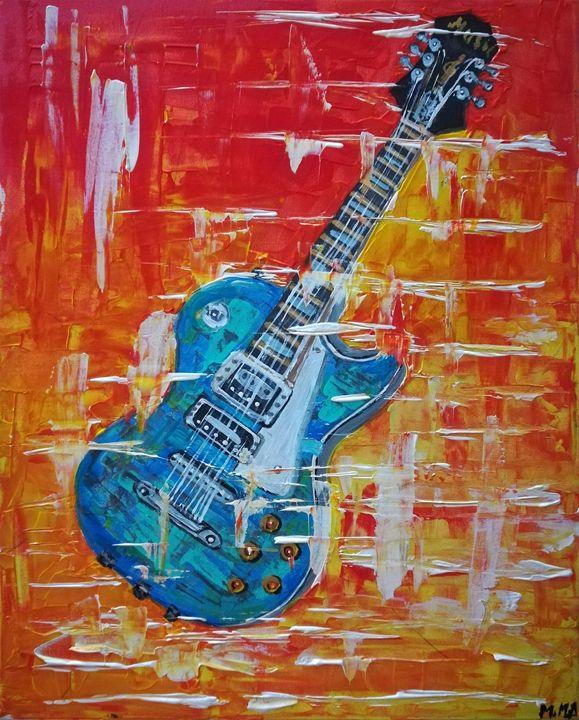 Guitar - MARIA MAGIC ART