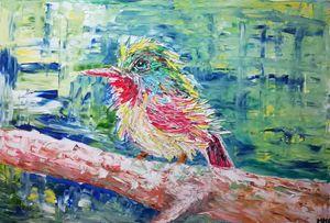 Bird pose - MARIA MAGIC ART