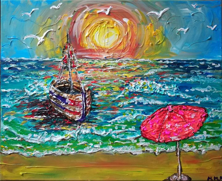 SEASCAPE - MARIA MAGIC ART