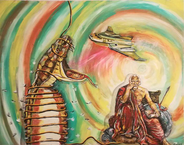 The wise man - MARIA MAGIC ART