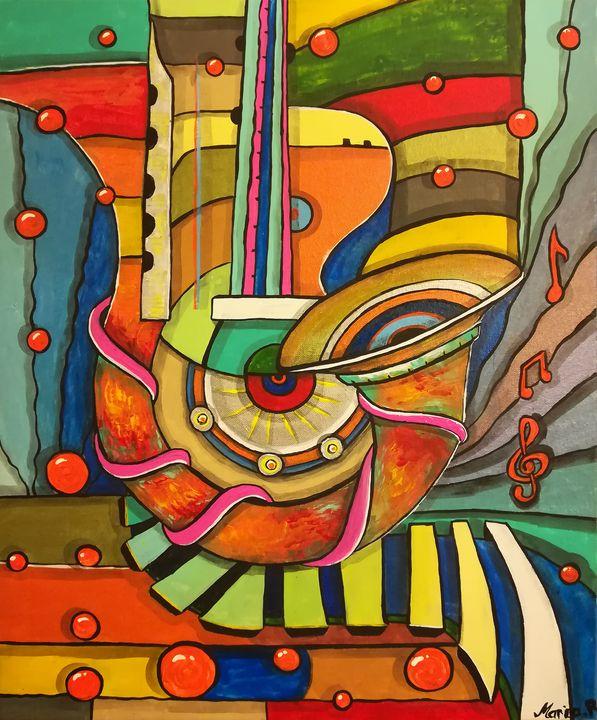 Music conception - MARIA MAGIC ART