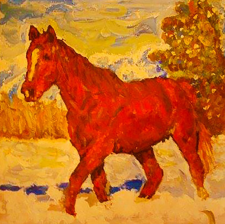 Horse - MARIA MAGIC ART