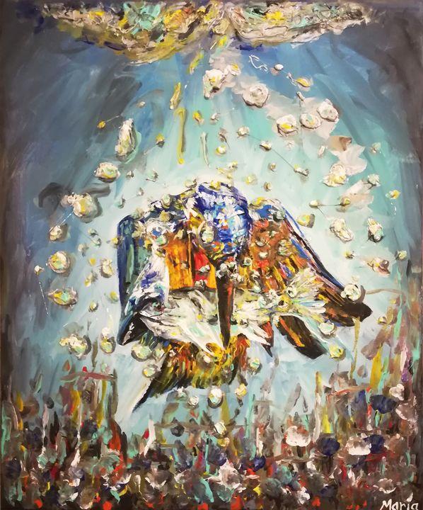Under water - MARIA MAGIC ART