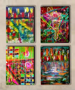 ABSTRACT 4 CANVAS