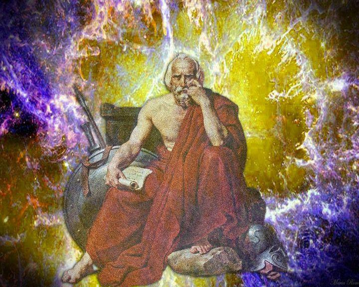 The Thinker - MARIA MAGIC ART