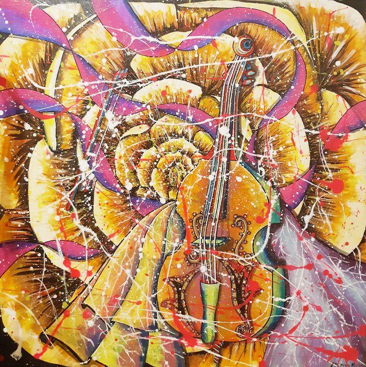 MUSIC BASS - MARIA MAGIC ART