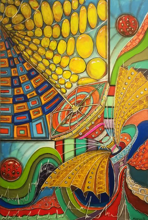 Time sound captor - MARIA MAGIC ART