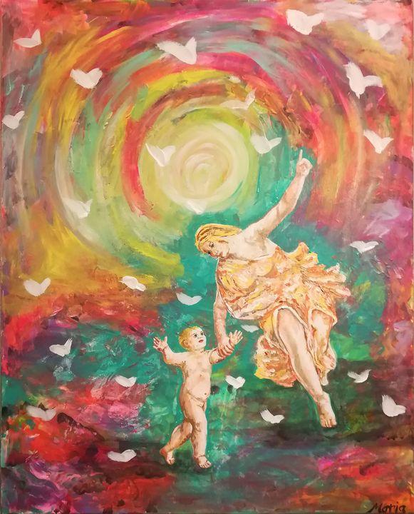 Paradise - MARIA MAGIC ART