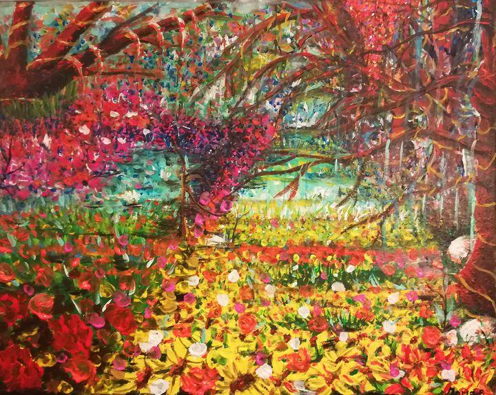 Forest Garden - MARIA MAGIC ART