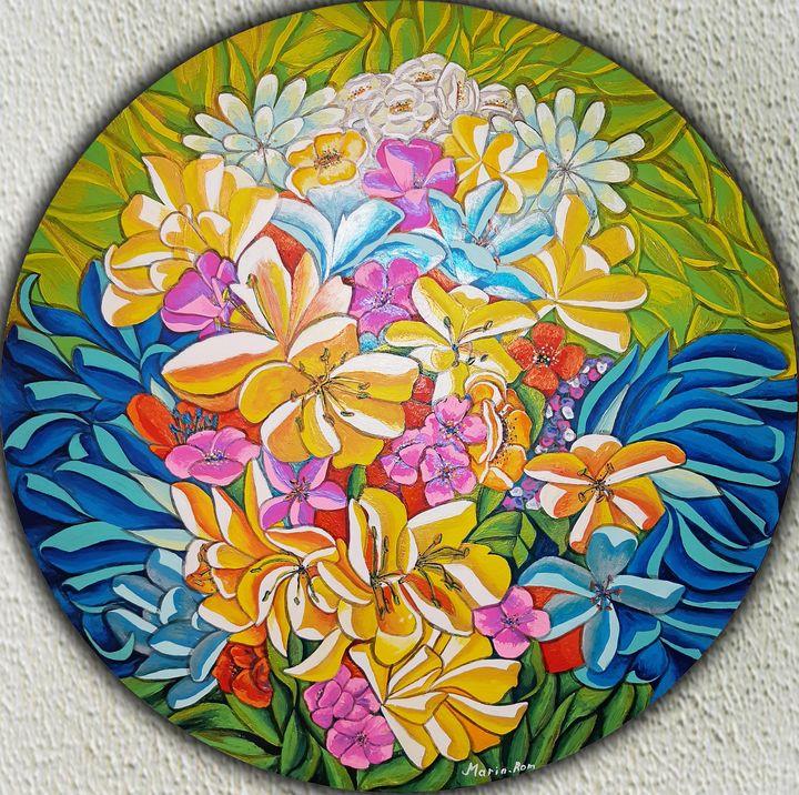 Garden flowers - MARIA MAGIC ART