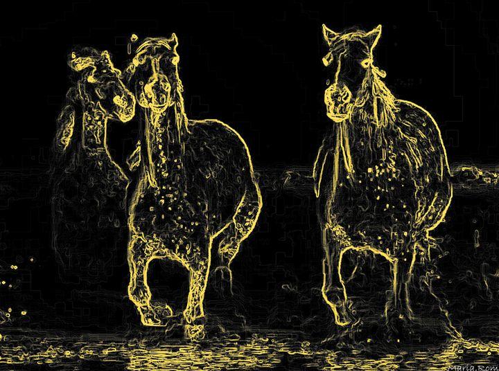 Horses - MARIA MAGIC ART