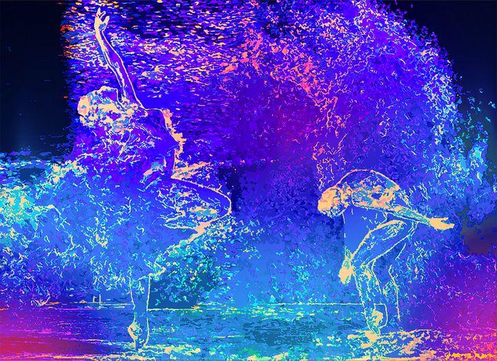 Water ballerina - MARIA MAGIC ART