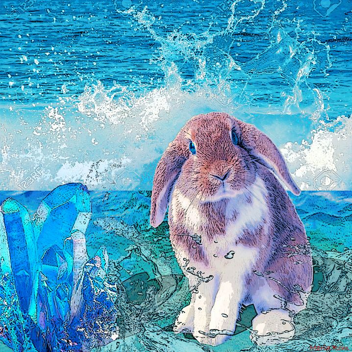 I love the sea too - MARIA MAGIC ART
