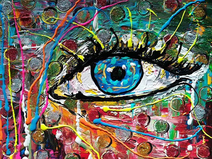 Painting Bring Luck, Wish, Chance,he - MARIA MAGIC ART