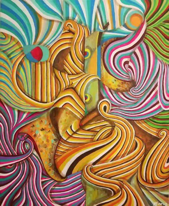 Colors incarnation - MARIA MAGIC ART