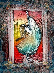 Dance mirror underwater