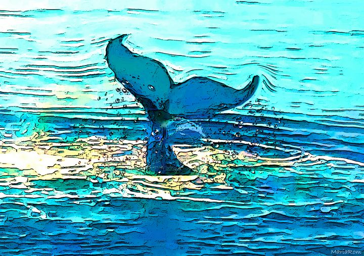 Balene-whales - MARIA MAGIC ART