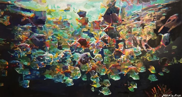 Australia under water - MARIA MAGIC ART