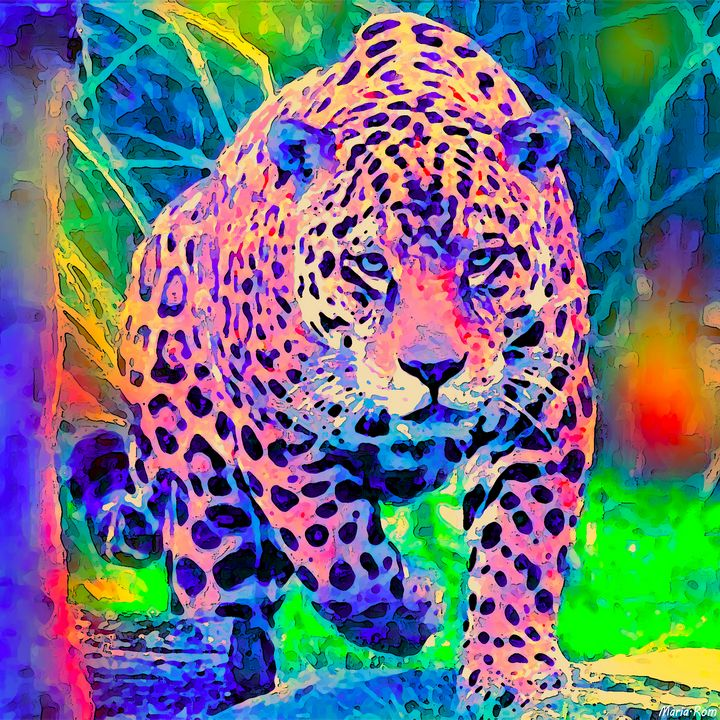 Leopard - MARIA MAGIC ART