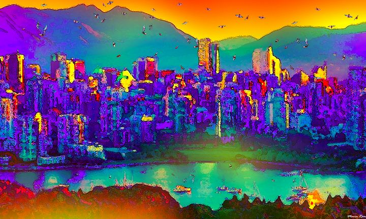 Yaletown vancouver - MARIA MAGIC ART