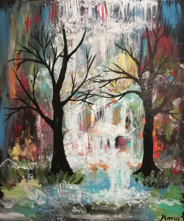 Waterfalls - MARIA MAGIC ART