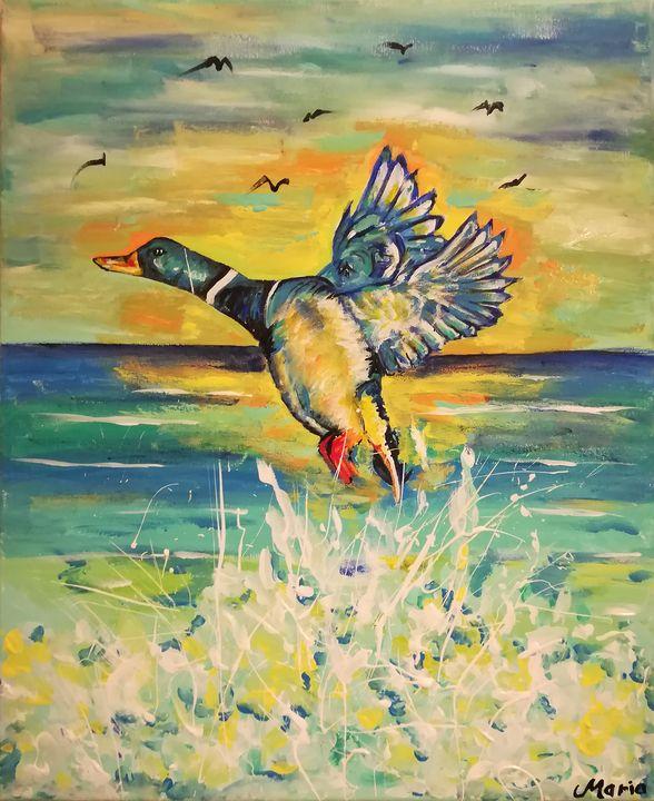 Duck - MARIA MAGIC ART